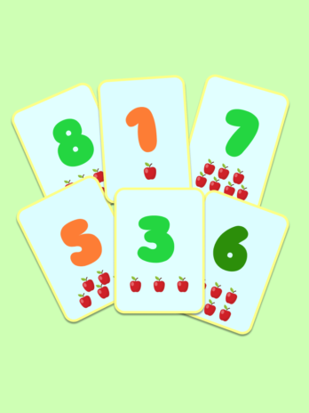 Numbers 1-10 Flashcards