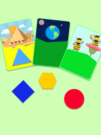 Shapes for Kids Flashcards