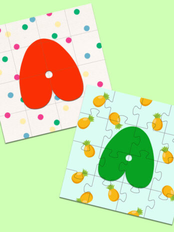 Letter A Puzzles For Kids